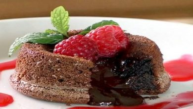 Photo of Christmas Special Recipe 2019  : Molten lava cake with berries